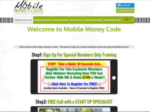 Step 1: An Upsell Webinar