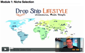 drop ship lifestyle video training resources