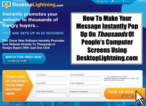 Desktop Lightning Home page