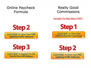 Online Paycheck Formula Upsells are identical to really good commissions