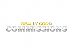 Really Good Commissions Logo
