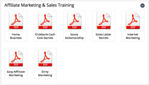 affiliate millionaire club training pdfs