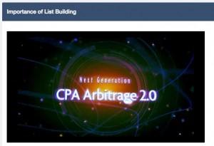 CPA Arbitrage 2.0 videos