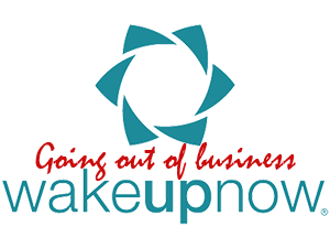 wake up now going out of business