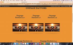onpage factors