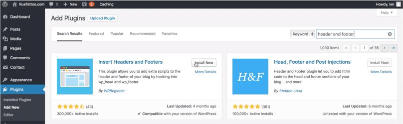 24_05_WordPress Dashboard Header and Footer