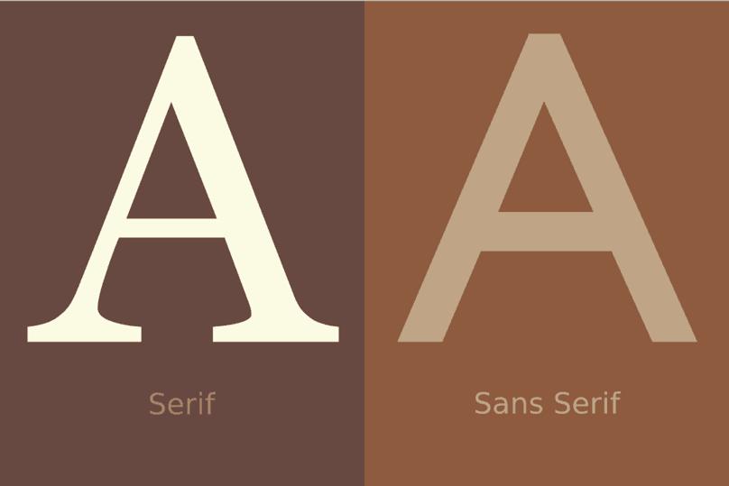 How To Write Articles Online: Serif vs Sans Serif