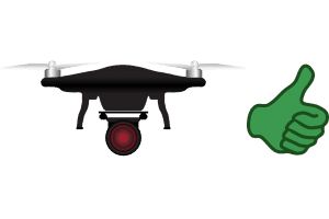 niche picking examples: drone reviews good niche