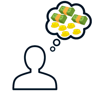 High-Profit Online Business: thinking of money