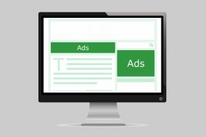 Types of Online Business Models: website with ads