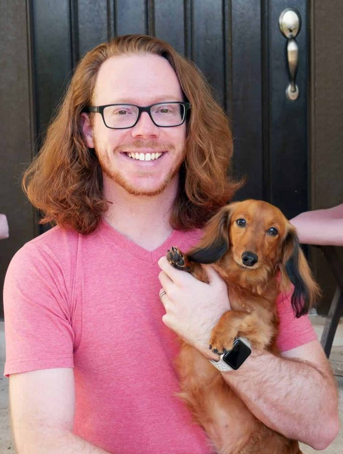 Ian-long-hair-and-dog