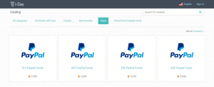 i-Say PayPal Redemption Options (Aug 2019)