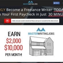 Master Writing Jobs review featured image