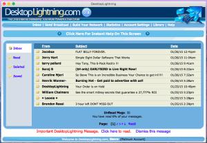DesktopLightning Inbox