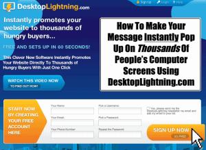 Desktop Lightning Home page