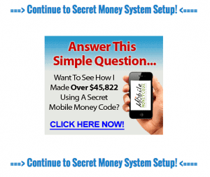 secret money system ads