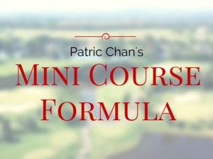 Mini CourseFormula