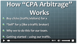 CPA Arbitrage 2.0 how is works