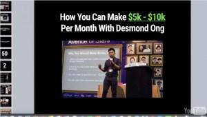 Desmond's webinar