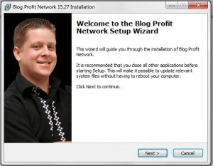blogprofitnetwork software installation