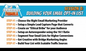 7 steps to building email list