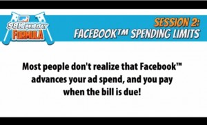 Facebook spending limits