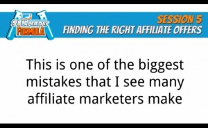 One of the biggest mistakes affiliate marketers make