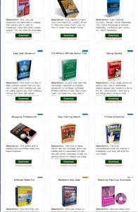 The PLR products