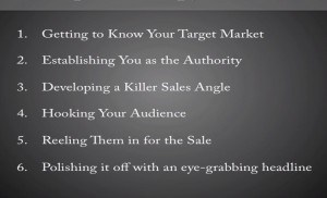 6 copywriting steps