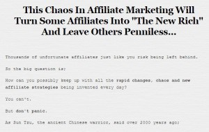 Affiliate marketing prophecy