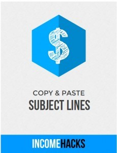 Copy and paste subject lines