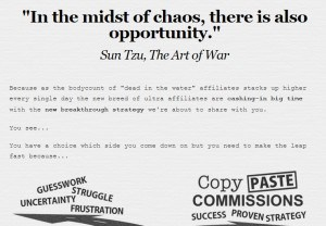 Opportunity in chaos