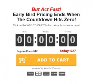 The countdown hit zero but early bird pricing remained