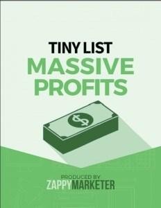 Tiny List Massive Profits