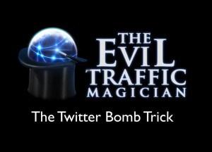 Twitter bomb trick