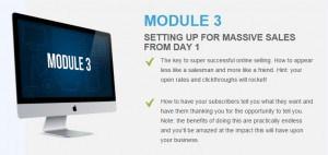 Upsell module 3