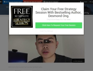Claim your free strategy session