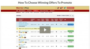 How To Choose Winning Offers To Promote