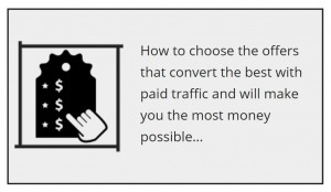 How to choose the offers that convert