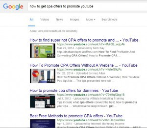 How to find CPA offers to promote