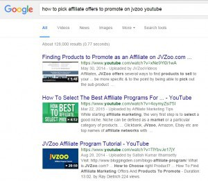 How to promote affiliate products on jvzoo youtube