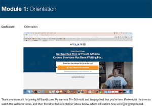 Affiliate University Introduction