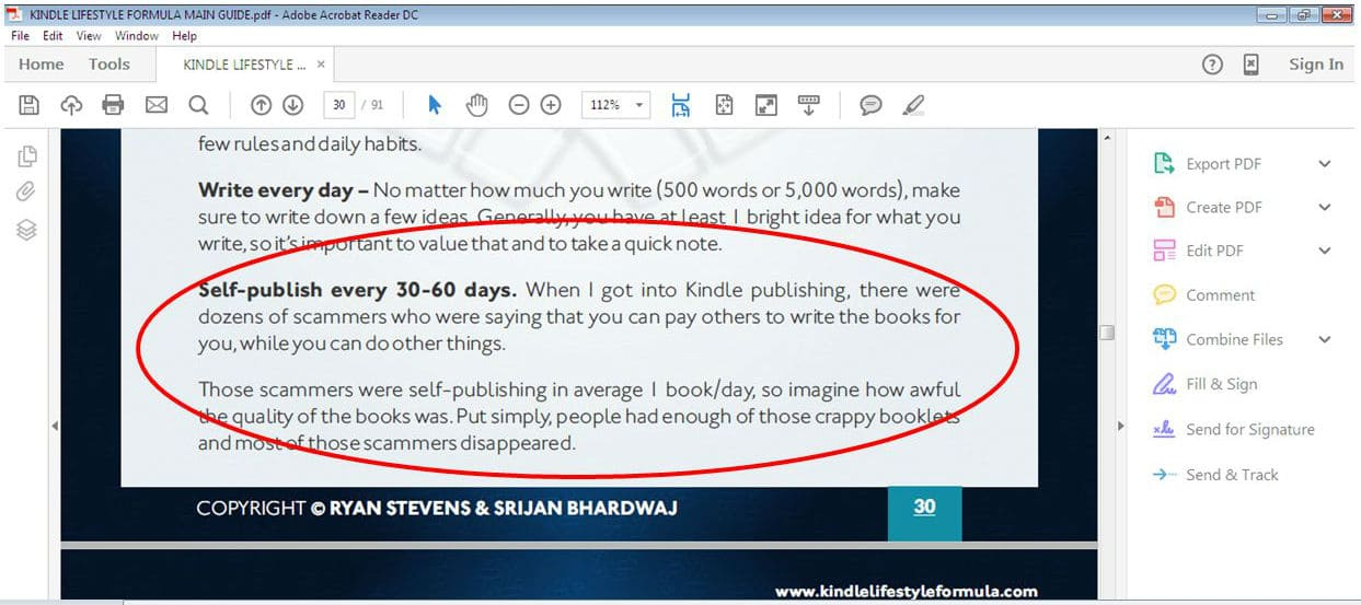 Kindle Lifestyle Formula Review: Can It Earn Passive Income?