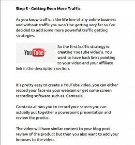 Getting even more traffic youtube videos