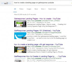 How to create a landing page on getresponse