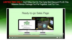 The ready made sales page