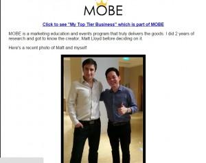 The secret bonus is mobe 2