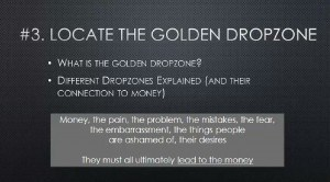 The golden dropzone
