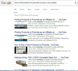 How to find products to promote on jvzoo