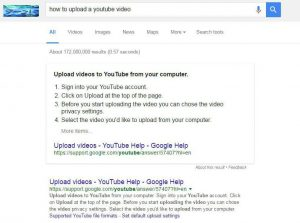 How to upload a youtube video google